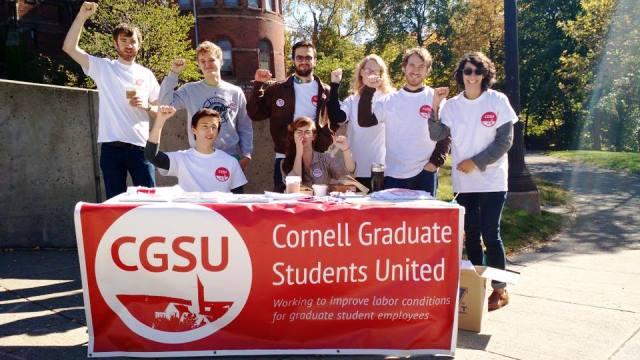 Cornell grad students